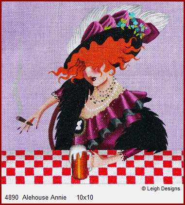 click here to view larger image of Alehouse Annie (hand painted canvases)