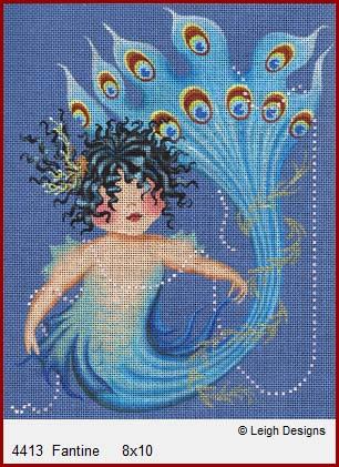 click here to view larger image of Fantine (hand painted canvases)