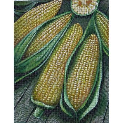 click here to view larger image of Corn (hand painted canvases)