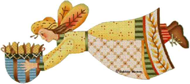 click here to view larger image of Harvest Fairy (hand painted canvases)
