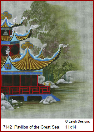 click here to view larger image of Pavilion of the Great Sea (hand painted canvases)