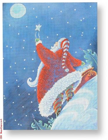 click here to view larger image of Wish Upon A Star (hand painted canvases)
