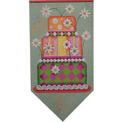 click here to view larger image of May Banner Cake - 18ct (hand painted canvases)