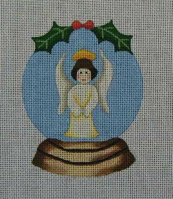 click here to view larger image of Snow Globe Angel (hand painted canvases)