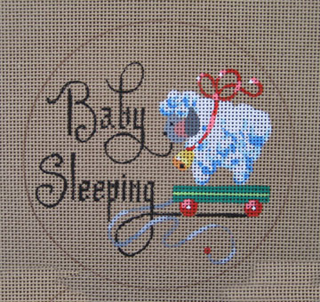 click here to view larger image of Baby Sleeping (Boy) (hand painted canvases)