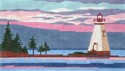 click here to view larger image of Nova Scotia Light (hand painted canvases)