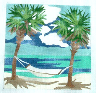click here to view larger image of Hammock (hand painted canvases)