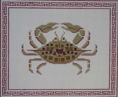 click here to view larger image of Crab (hand painted canvases)