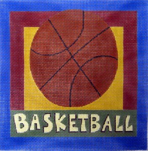 click here to view larger image of Basketball  (hand painted canvases)
