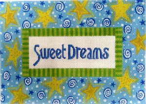 click here to view larger image of Sweet Dreams (Boy) (hand painted canvases)