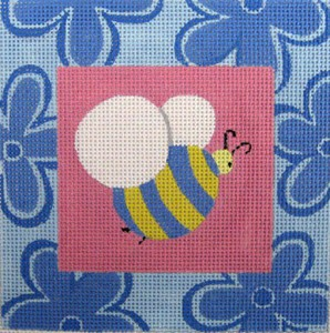click here to view larger image of Bee (hand painted canvases)