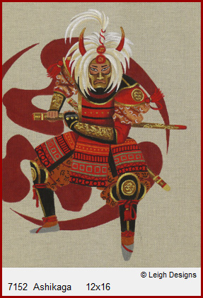 click here to view larger image of Ashikaga (hand painted canvases)