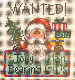 click here to view larger image of Wanted, Jolly Man ... (hand painted canvases)
