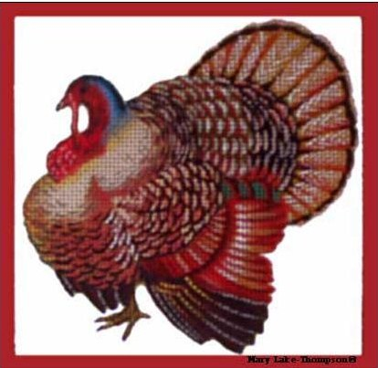 click here to view larger image of Turkey  (hand painted canvases)