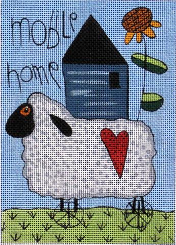 click here to view larger image of Mobile Home (hand painted canvases)