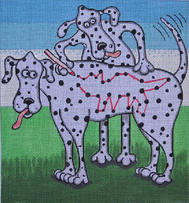 click here to view larger image of Connect-a-Dot (hand painted canvases)