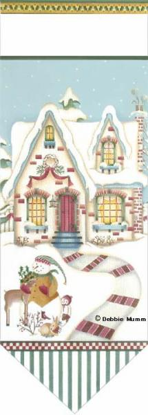 click here to view larger image of Cozy Cottage Banner (hand painted canvases)