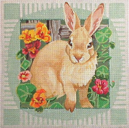 click here to view larger image of BF Bunny (hand painted canvases)