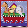 click here to view larger image of Mini Noah's Ark (hand painted canvases)