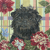 click here to view larger image of Affenpinscher (hand painted canvases)