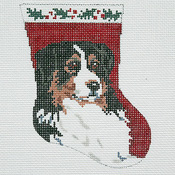 click here to view larger image of Bernese Ornament (hand painted canvases)
