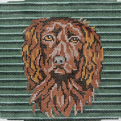 click here to view larger image of Boykin Spaniel Cummerbund (hand painted canvases)