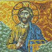 click here to view larger image of Christ Icon (13th C Constantinople) (hand painted canvases)