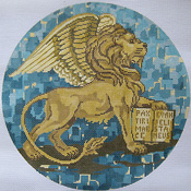 click here to view larger image of Winged Lion of St. Mark (hand painted canvases)