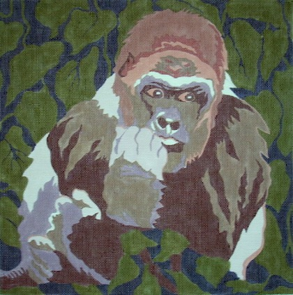 click here to view larger image of Gorillla (hand painted canvases)