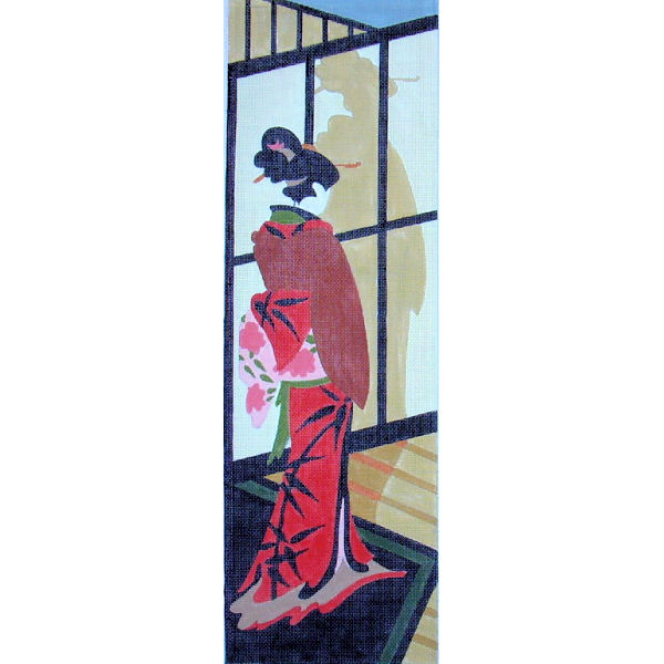 click here to view larger image of Geisha I (hand painted canvases)