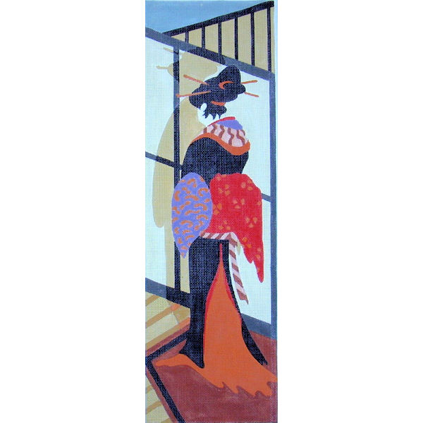 click here to view larger image of Geisha II (hand painted canvases)