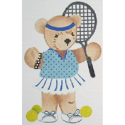 click here to view larger image of Tennis Girl (hand painted canvases)
