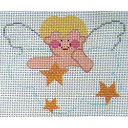 click here to view larger image of Blonde Boy Angel (hand painted canvases)
