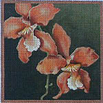 click here to view larger image of Orchid Lyota (hand painted canvases)