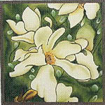 click here to view larger image of Magnolia Merrill (hand painted canvases)