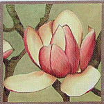 click here to view larger image of Magnolia Charles Raffill (hand painted canvases)