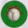 click here to view larger image of Baseball Ornament (hand painted canvases)