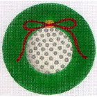click here to view larger image of Golf Ornament (hand painted canvases)
