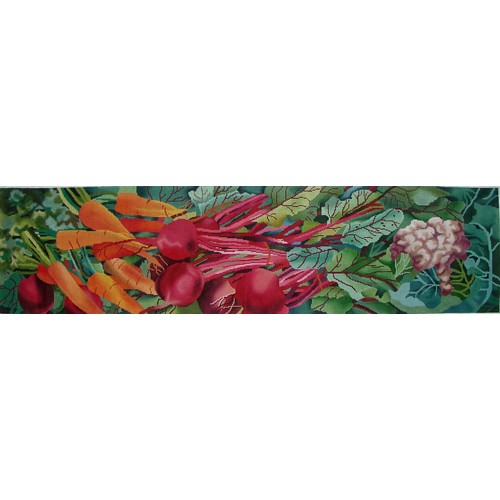 click here to view larger image of Farmers Market (hand painted canvases)