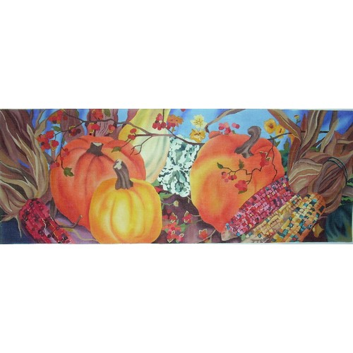 click here to view larger image of Autumn Accents (hand painted canvases)