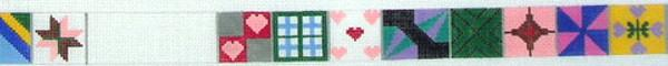 click here to view larger image of Quilt Squares (hand painted canvases)