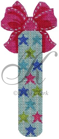 click here to view larger image of Bright Stars Stick (hand painted canvases)