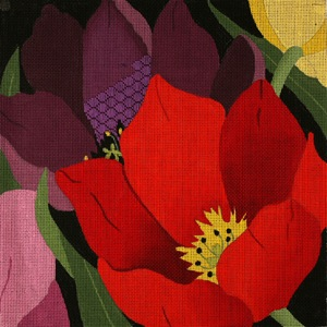 click here to view larger image of Giant Tulips (hand painted canvases)