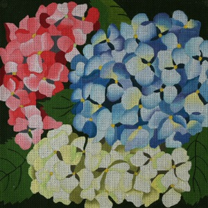 click here to view larger image of Giant Hydrangeas (hand painted canvases)