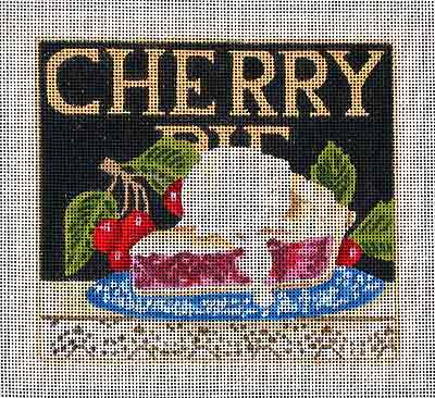 click here to view larger image of Cherry Pie (hand painted canvases)