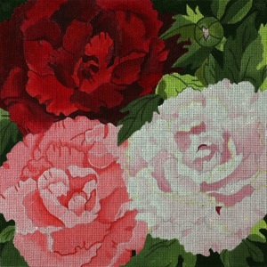 click here to view larger image of Giant Peonies (hand painted canvases)