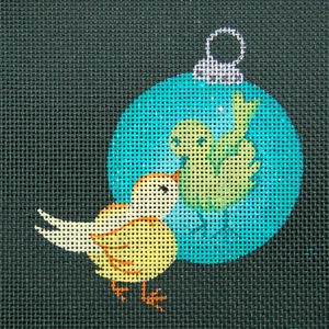 click here to view larger image of Birdie (hand painted canvases)