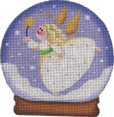 click here to view larger image of Angel Globe (hand painted canvases)