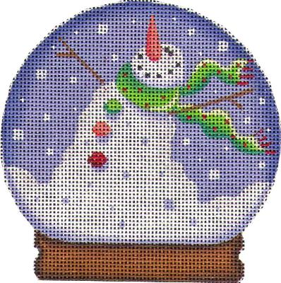 click here to view larger image of Snowman Globe (hand painted canvases)
