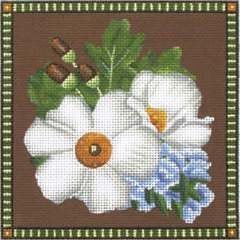 click here to view larger image of Matilija Poppy (hand painted canvases)